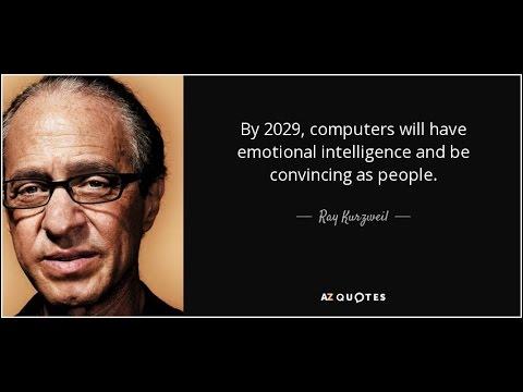 Ray Kurzweil's Singularity (Ch4 pt1)