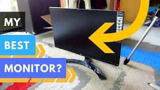 ToscaVlog | Unboxing Monitor LG 22
