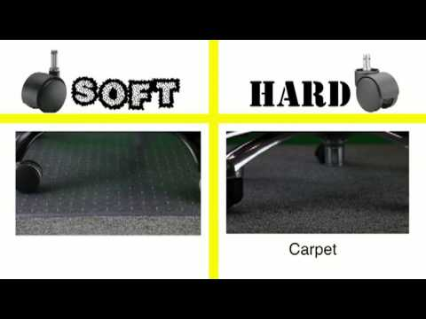 3 Common Types of Office Chair Wheels & The 9