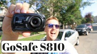 Best Dash Cam for UBER, Lyft & Taxi - Dual 1080P Cameras -  PAPAGO! - GoSafe S810