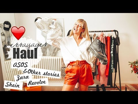 HAUL & TRY ON ♡ HELLO FALL : SHEIN, ZARA, ASOS, &OTHER STORIES...