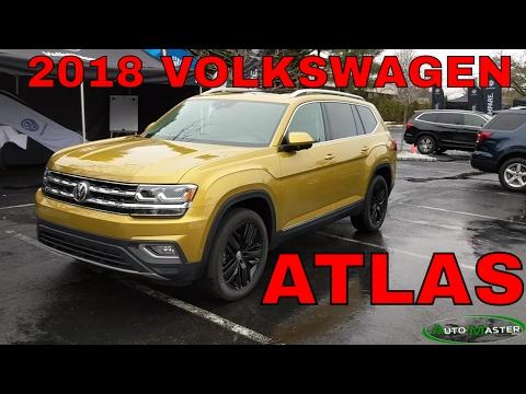 2018 Volkswagen Atlas review and drive