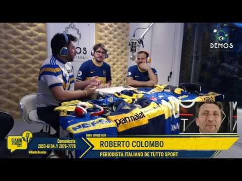 Roberto Colombo    Diario Xeneize 14/Nov/16 Parte 2