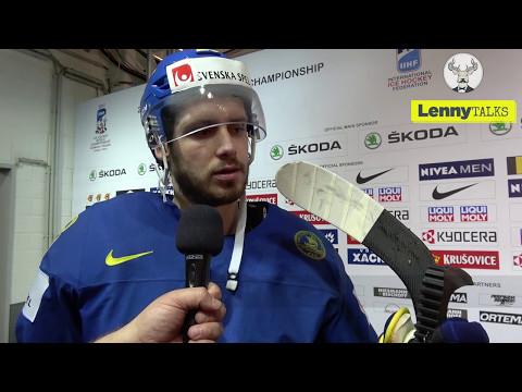Frågan uppskattades inte - här sätter Oliver Ekman-Larsson reportern på plats