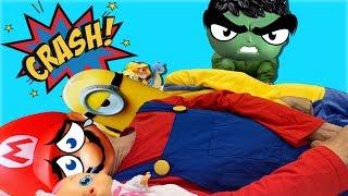 인기 동요 놀이 영어 배우기! Ten in the bed Nursery Rhymes أغنية الأطفال Lagu Anak anak - Romiyu story