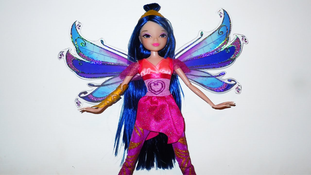 Winx club musa bloomix power doll review youtube - Winx magic bloomix ...