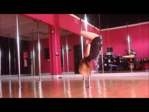 B.O.B out of my mind feat nicki minaj pole dance freestyle  Jen Spinsity
