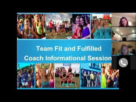 Busy Women Build a Business- How Team Fit and Fulfilled Can Change Your Life!
