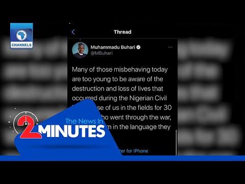 Recap: Twitter Deletes Buhari's 'In The Language They Understand' Tweet