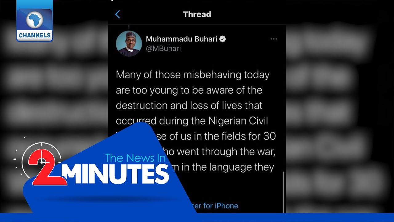 Download Recap: Twitter Deletes Buhari's 'In The Language They Understand' Tweet