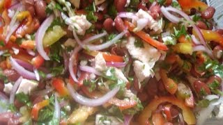 Салат  Тбилиси оболденно вкусный и сытный