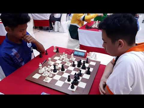 Michael Concio Jr. (PHI)-FM Daniel Tombing Eastern Asia Juniors Chess Championship 2019