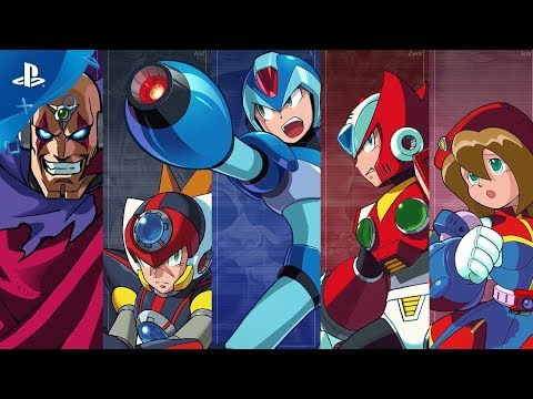 Mega Man X Legacy Collection 1 + 2 Announce Trailer | PS4