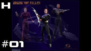Star Trek Deep Space Nine The Fallen Walkthrough Part 01 (Worf)