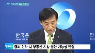 """한은 """"경기부진 일부 개선""""…금리동결로 '숨 고르기'"""