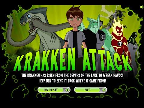 เกมส์เบ็นเท็นปราบอสูรกาย (Krakken-Attack)