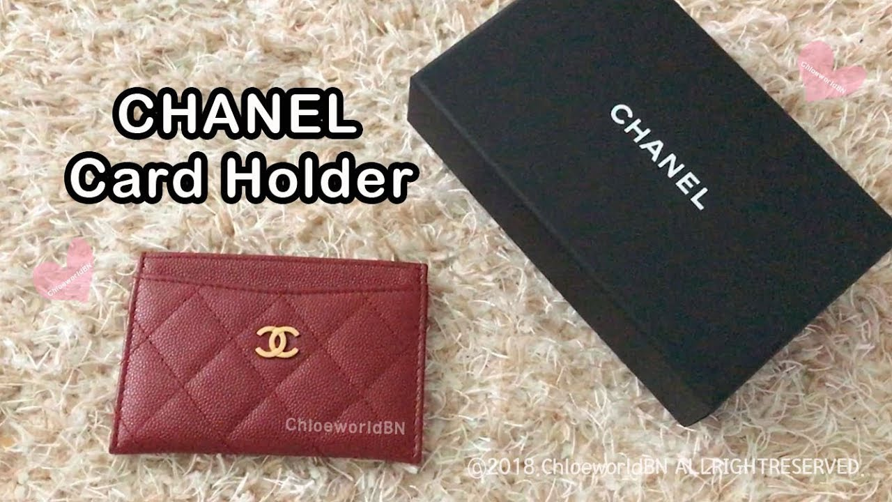 20ed119ef8ede8 CHANEL Card Holder Review, 2018 Cruise, Caviar Leather, Wear and Tear, Pros  and Cons