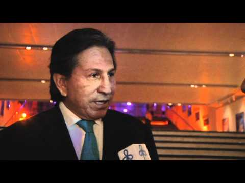 Interview with former Peruvian President Dr. Alejandro Toledo, Israeli Presidential Conference 2012