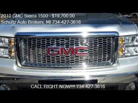 2010 GMC Sierra 1500 for sale in Livonia, MI 48150 at the Sc