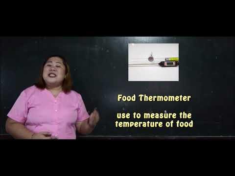 KITCHEN TOOLS & EQUIPMENT (Grade 7/8 Cookery)