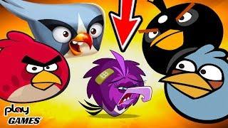 Angry Birds Встретил БОССА и НАКАЗАЛ! Открыл СУНДУК! Приключения Злых Птичек мульт игра Энгри Бердс
