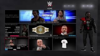 WWE 2K17 MY CAREER TIPS N TRICKS(WWE 2K17 MY CAREER., 2016-11-04T00:37:24.000Z)
