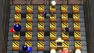 Bomberman 64: The Second Attack Netplay 4 player battles