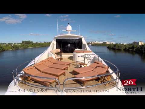 26 North Yachts: 2005 116' Lazzara Motor Yacht HD VIDEO TOUR