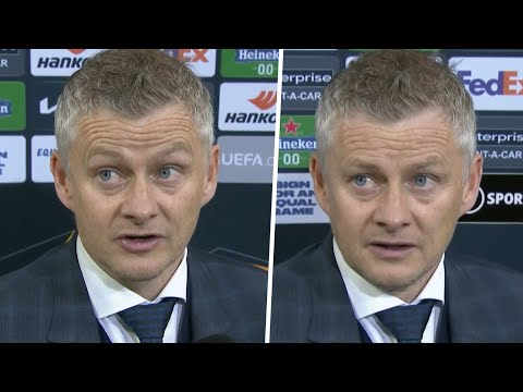"""""""We didn't turn up!"""" Solskjaer frustrated by Manchester United display in Europa League final defeat"""