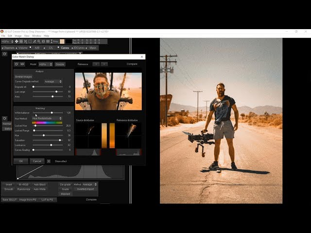 One of the BEST software for color grading - 3D Lut Creator