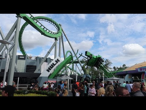 What Is The Busiest Week At Universal Orlando Resort Like?? | Crowd Level, Ride Wait Times & More!