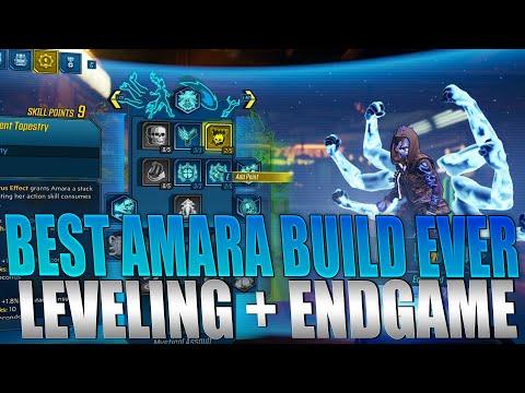 Borderlands 3 - BEST Amara Build For Leveling + End Game! INSANE Damage Guide