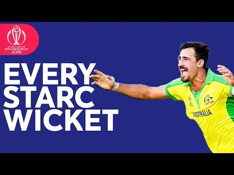 Every Mitchell Starc Wicket at the 2019 ICC Cricket World Cup