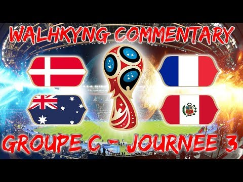 🔴 [LIVE] LIVE RÉACTION COMMENTARY| DANEMARK VS FRANCE ET AUSTRALIE VS PEROU | #VICPFAMILY
