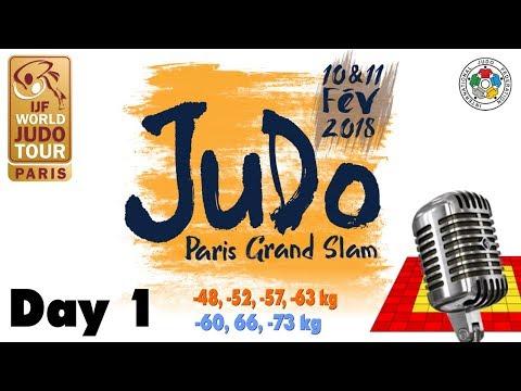 Grand-Slam Paris 2018: Day 1