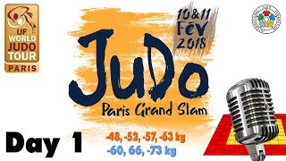 Grand-Slam Paris 2018: Day 1