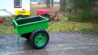 Fabricated David Bradley Dump Cart