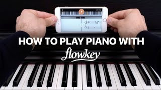 Learn how to play piano with flowkey