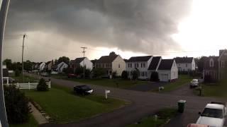June 9, 2013 storm timelapse