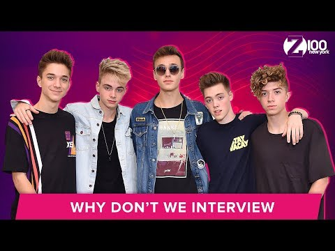 Why Don't We Talks Pet Peeves & Loving Each Other | Interview
