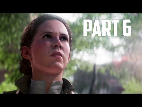 STAR WARS: BATTLEFRONT 2 Walkthrough Gameplay Part 6 - Princess Leia [Battlefront II BF2]