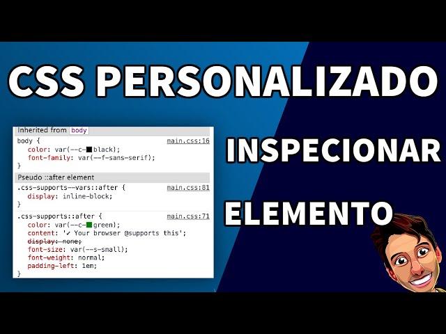 CSS Personalizado e Inspecionar Elemento