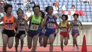 Repeat youtube video Track and field W'1500m Final Jr.Olympics陸上2010-1023