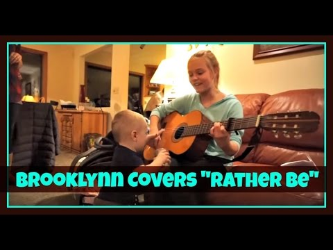 Rather be by clean bandit brooklynn covers youtube