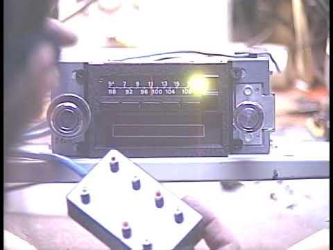 Barry's 8 Track Repair - 1973 Lincoln Mark IV 8 Track Radio Conversion
