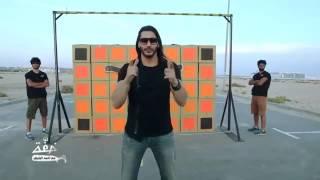 Ahmed El Bayed - stunt on the road /خفة مع أحمد البايض - تحدي على الطريق