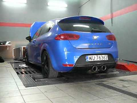 seat leon cupra r 1p milltek exhaust r performance dyno. Black Bedroom Furniture Sets. Home Design Ideas