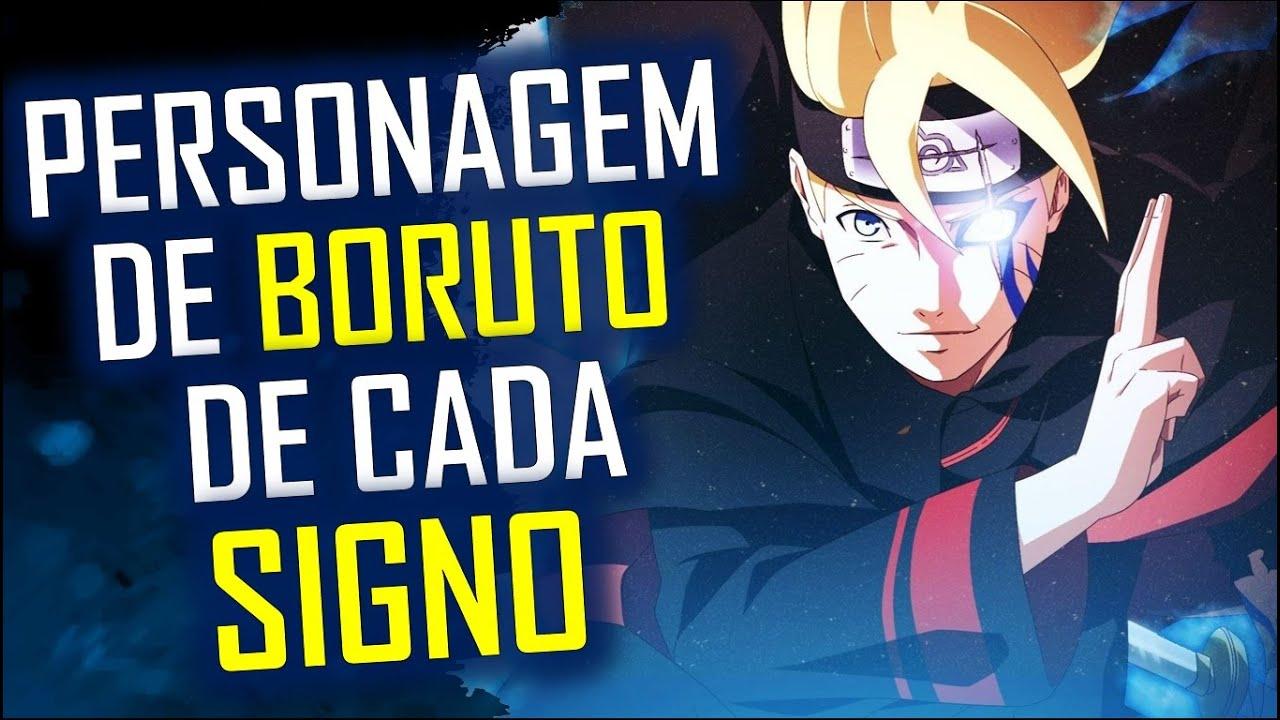 PERSONAGENS DE BORUTO DE CADA SIGNO