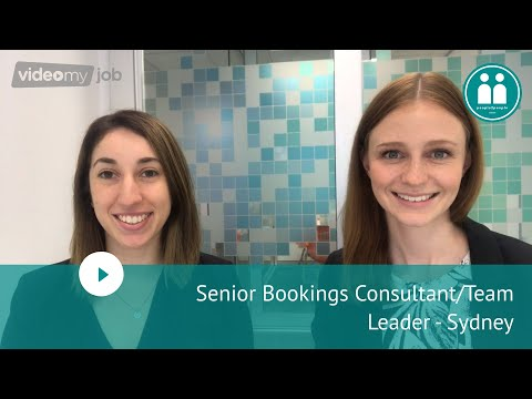 Senior Bookings Consultant/Team Leader - Sydney
