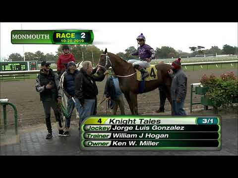 video thumbnail for MONMOUTH PARK 10-20-19 RACE 2